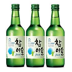 Soju (Chamisul Classic or Fresh)