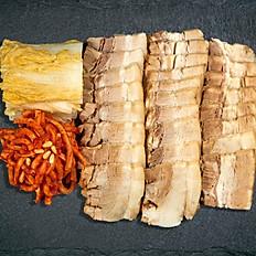 18. Pork & Kimchi Wrap Platter