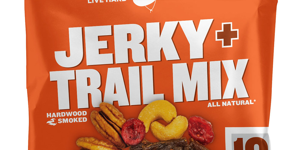 SWEET & HOT BEEF JERKY TRAIL MIX (3 PACK)