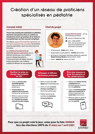 Actualités du SNMKR Île-de-France pour les élections URPS 2021