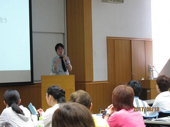講義「心の健康法〜指導者が学ぶべき心理学〜」東畑開人