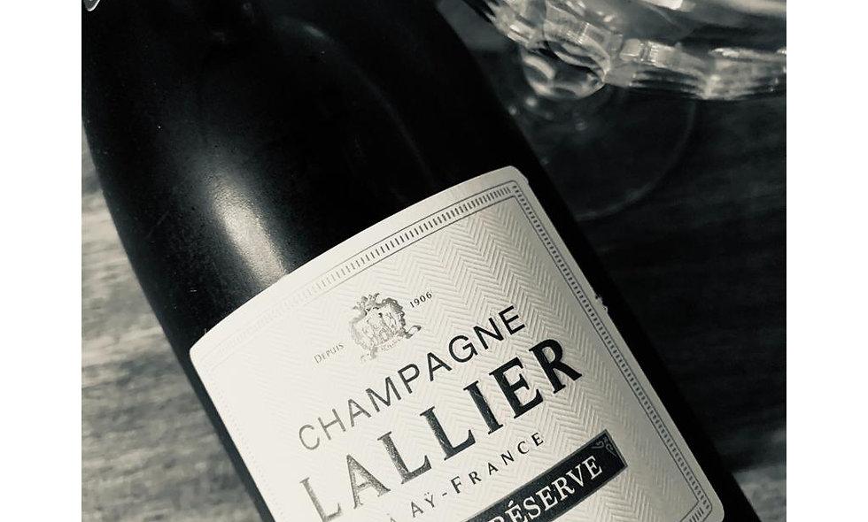 LALLIER GRAND CRU GRANDE RESERVE BRUT, Champagne, France     375ml