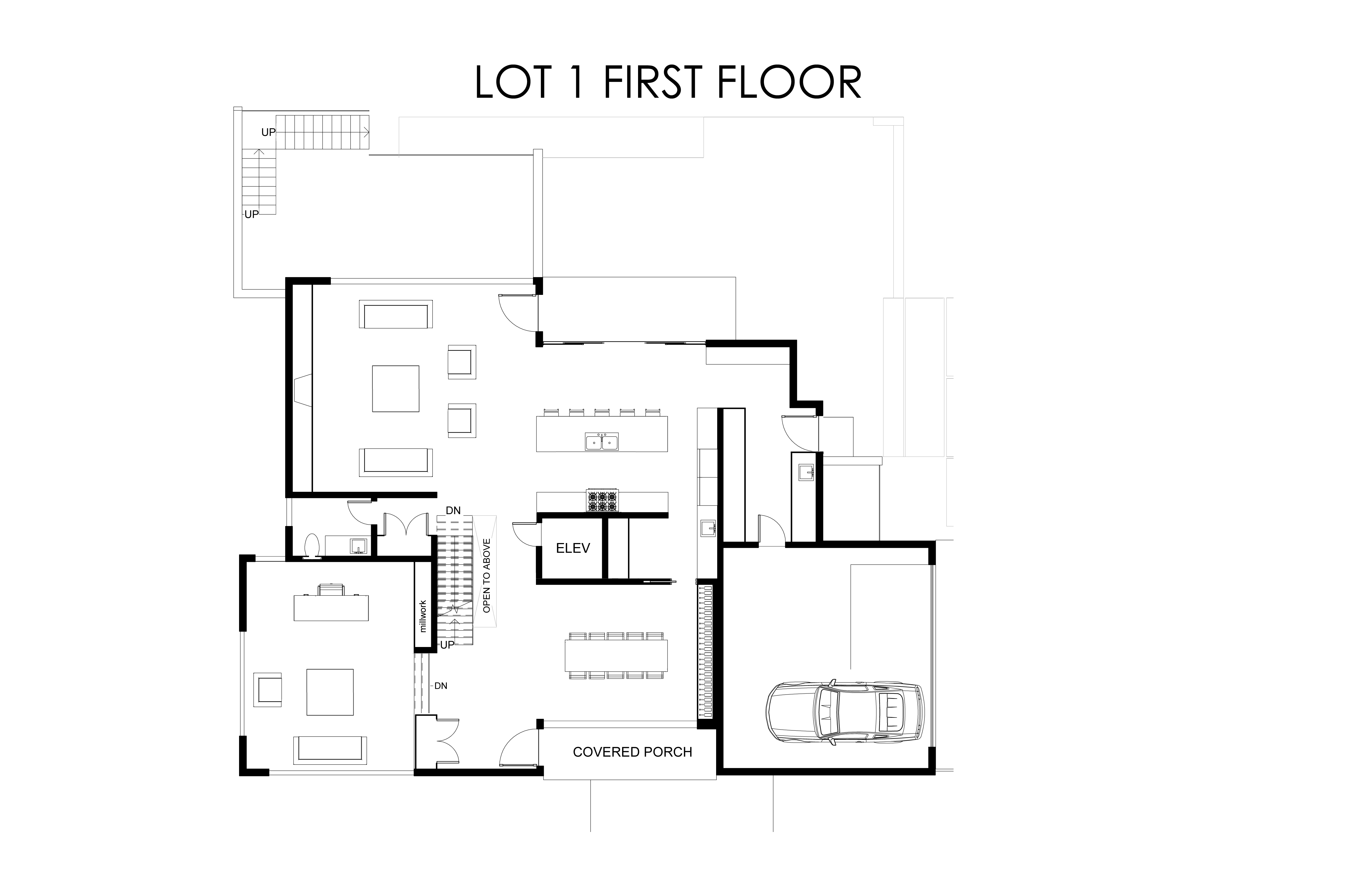 LOT 1  FIRST FlOOR