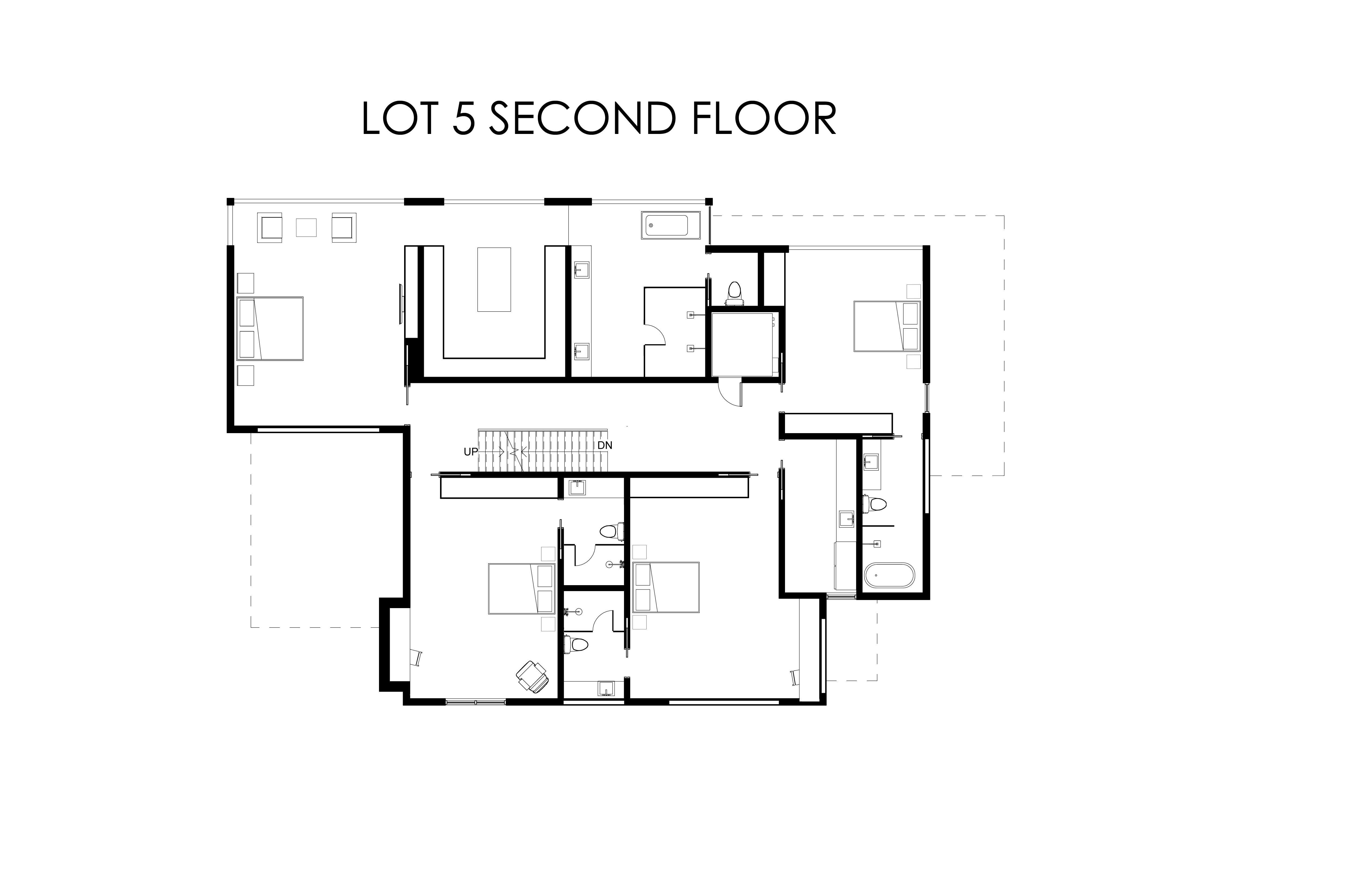 Lot 5  Second Floor