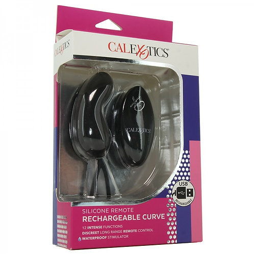 Silicone Remote Rechargeable Curve Vibe