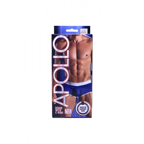 Apollo Blue Boxer with C-Ring in L/XL