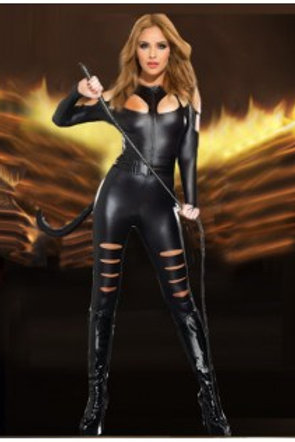 Halloween Catsuit Costume