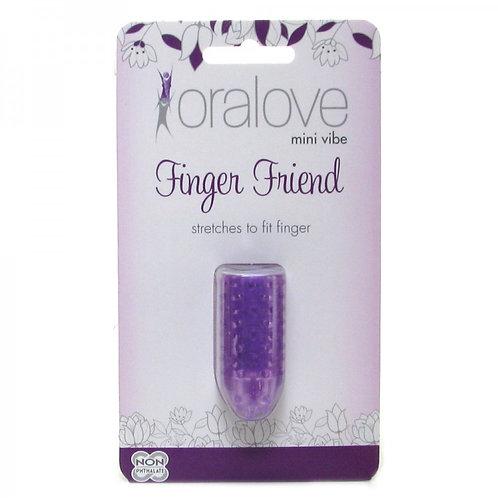 Oralove Finger Friend Mini Vibe in Purple