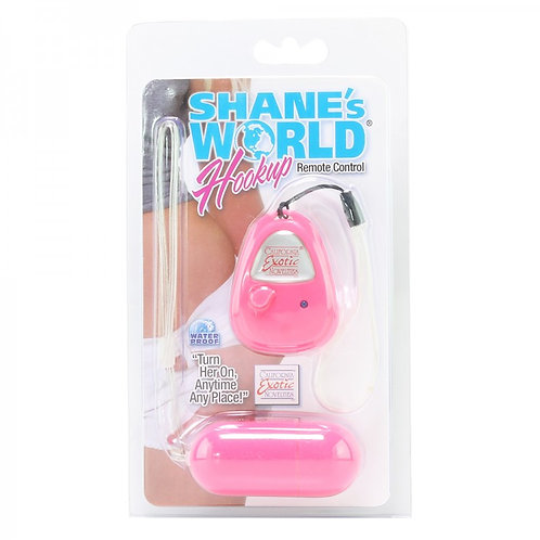 Shane's World Hookup Remote Control Egg Vibe in Pink