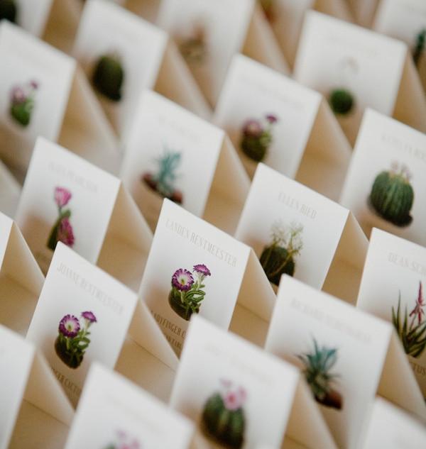Succulent Place Cards