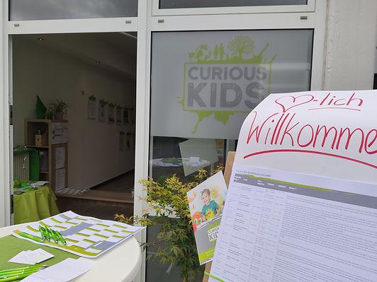 Tag der offenen Tür Frechen Königsdorf Curious Kids