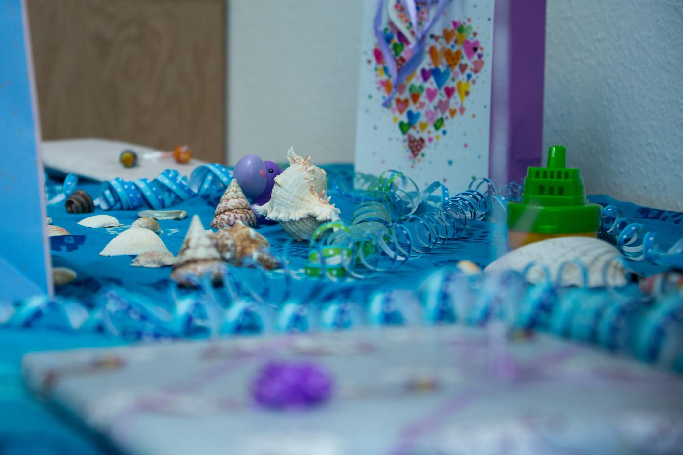 Unterwasser Party Curious Kids