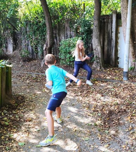 Bewegung bei Curious Kids