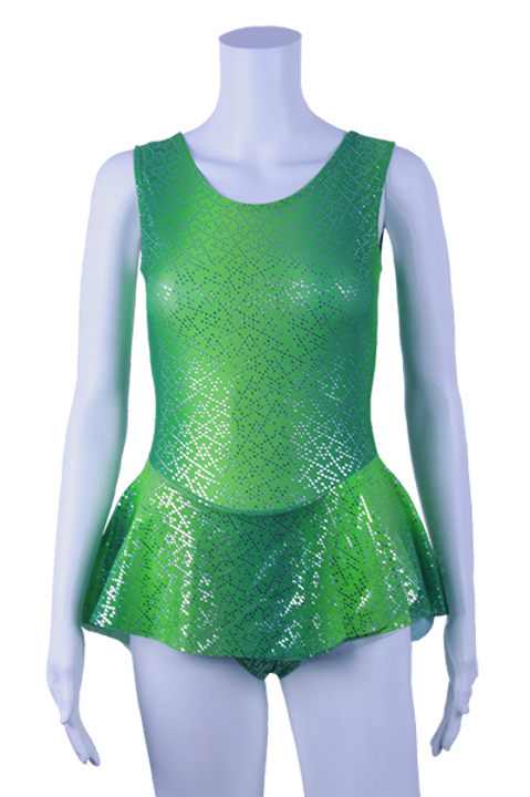 TSM Paillette imprimé vert