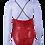 Thumbnail: MAILLOT Paillette imprimé rouge or