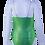 Thumbnail: MAILLOT Paillette imprimé vert argent