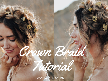 Crown Braid Tutorial to Channel Your Inner Queen
