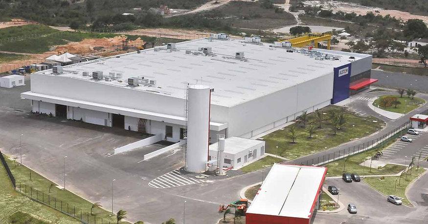 Fábrica PW-Alstom-Camaçari