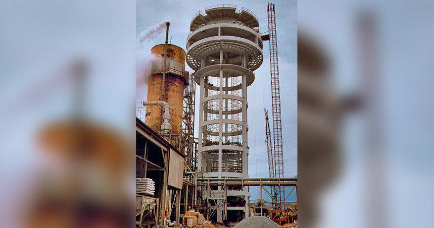 Torre de Perolação Toyo Setal