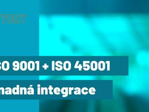 Máte ISO 9001 a plánujete ISO 45001?
