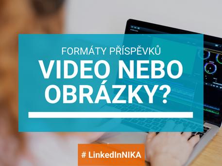 Mám dávat příspěvky s videem nebo s obrázkem? Nebo s PDF? Jaký to bude mít dosah?