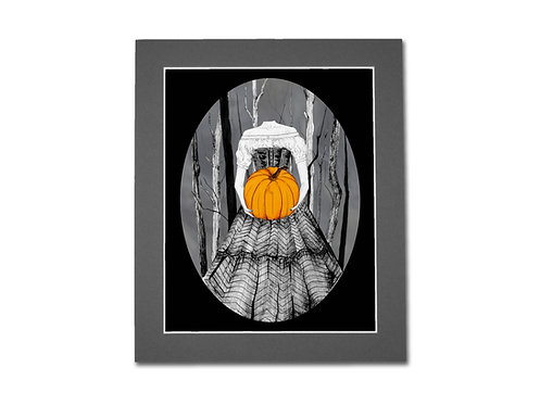Headless Ball 8x10 print with mount Pre Order