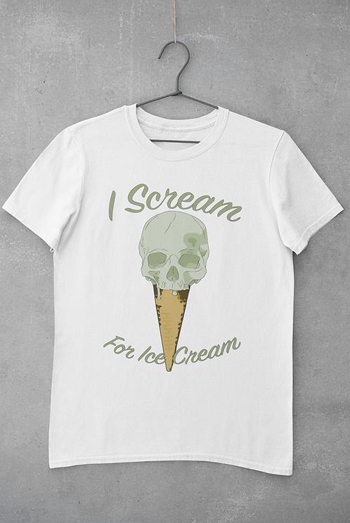 I Scream for Icecream Unisex T-Shirt