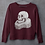 Thumbnail: The Bard- Burgundy Unisex Sweatshirt