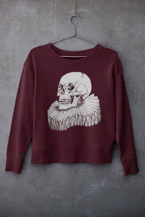 The Bard- Burgundy Unisex Sweatshirt