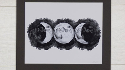 Tripple Goddess Print