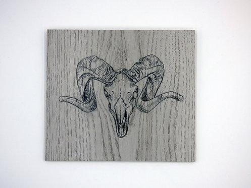 Ram Skull Panel