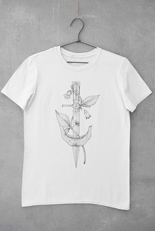 Bella's Dagger- White Unisex T-Shirt