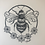 Thumbnail: Bumblebee Lino Print