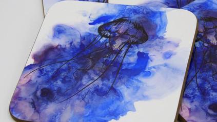 Jelly Fish Coaster