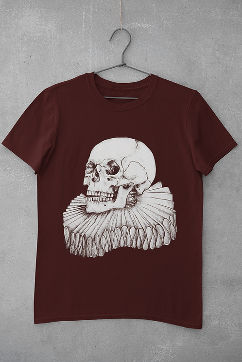 Burgundy The Bard- Unisex T-Shirt