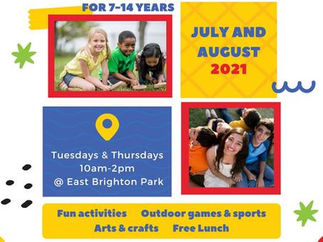 Summer Fun at East Brighton Park