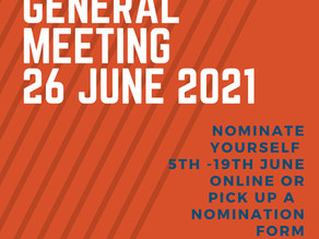 BELTA Annual General Meeting 26 June 2021