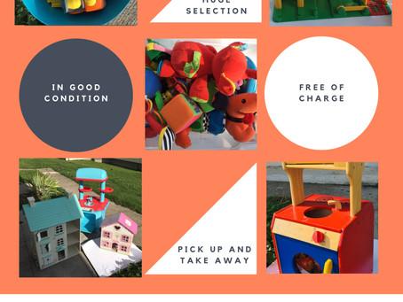 Bristol Estate – Great Toy Giveaway. New date: Sat 05 DEC 12-3pm