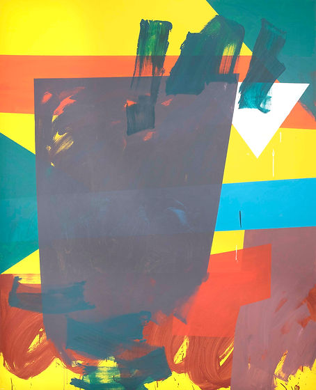 Zero painting-2(15.APL.2021), acrylic on