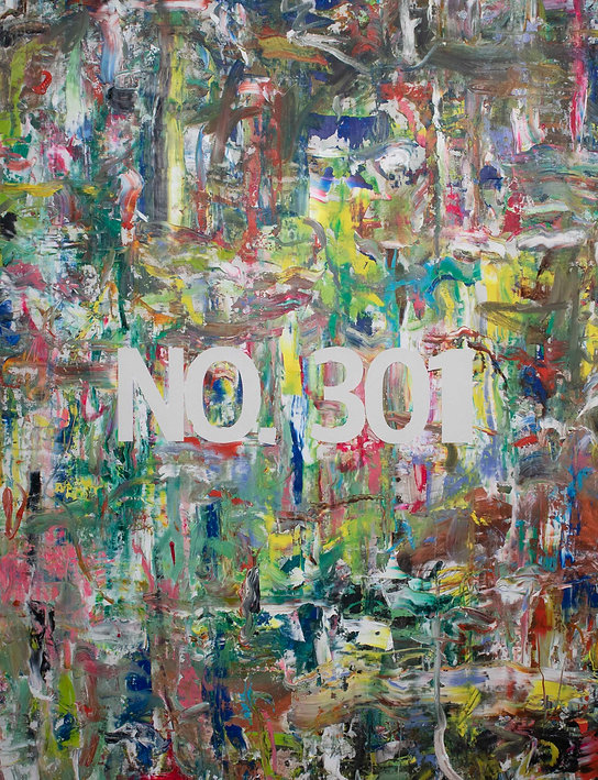 NO. 301, oil on canvas, 200x150cm, 2019.