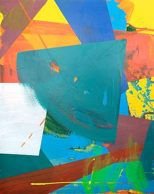 Zero painting-6(12.APL.2021), acrylic on