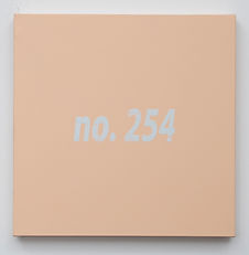 NO. 254, acrylic on canvas, 30x30cm, 201