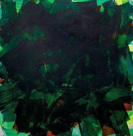 Zero painting-3(12.ARL.2021), acrylic on