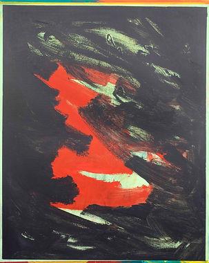 Zero painting-5(12.APL.2021), acrylic on