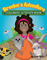 Brookie's Adventure Coloring Book