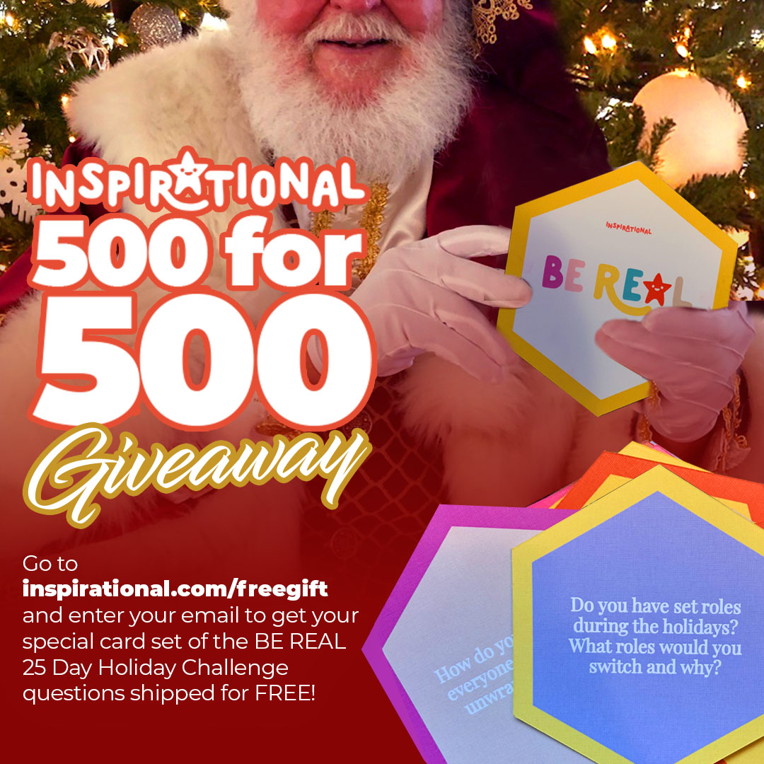 Inspirational Giveaway Banner