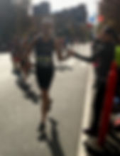 New York City Marathon nutrition running client