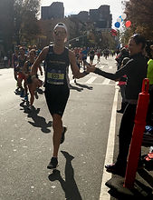 New York City Marathon nutrition running client