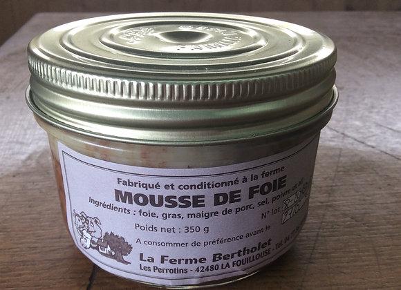 Bocaux mousse de foie 200 gr