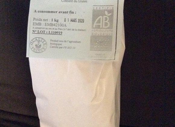 farine de blé T65 1 kg (bio)